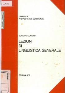 COSERIU LINGUISTICA GENERALE  Boringhieri